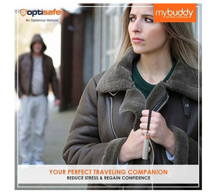 Optisafe MyBuddy Distress Companion SOS Tracker