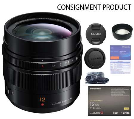 :::USED:::Panasonic Leica DG Summilux 12mm f/1.4 ASPH (MINT) Kode 132 Consignment