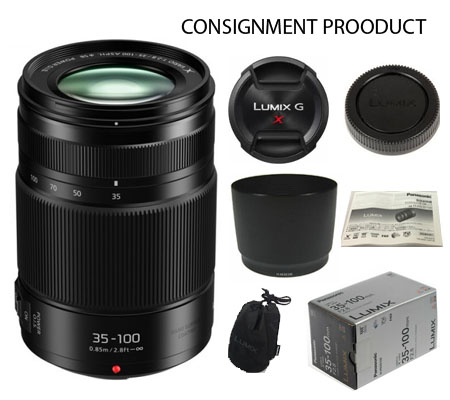 :::USED:::Panasonic Lumix 35-100mm F2.8 Exmint Kode 577 Consignment