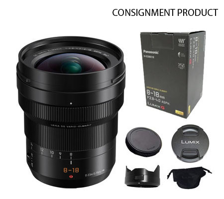 ::: USED ::: Panasonic Leica DG Vario-Elmarit 8-18mm F/2.8-4.0 ASPH (Excellent-919) Consignment