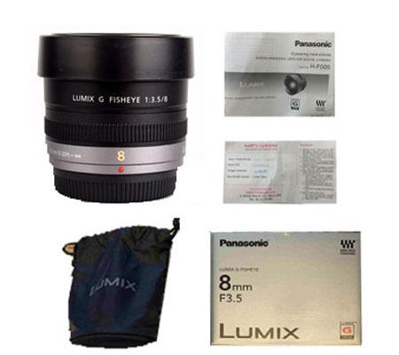 ::: USED ::: Panasonic Lumix 8mm F/3.5 Fisheye (H-F008) (Excellent-096)