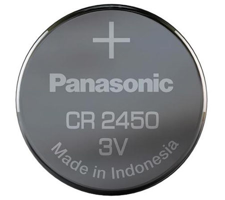 Panasonic CR2450 3V Lithium Coin Battery