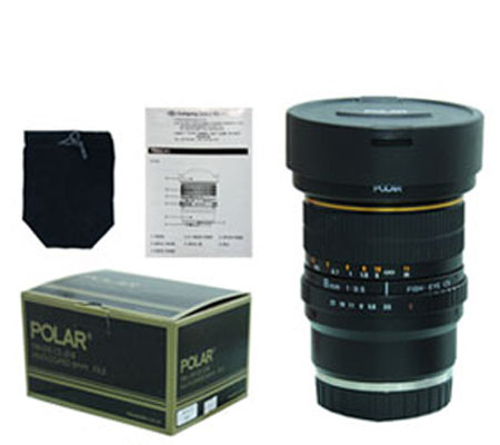 ::: USED ::: Polar For Sony E-mount 8mm F/3.5 Fisheye CS Multicoated (Mint)