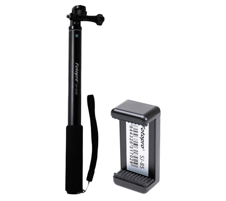 Fotopro Tongsis QP-902E + Holder SJ-85 Black