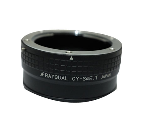 ::: USED ::: RayQual Adapter CY-S?E C/Y -Sony A-mount (Excellent)