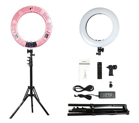 Fotoplus RL-18 Ring Light Max LED Pink