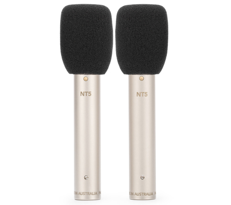 Rode NT5 Matched Pair Cardioid Condenser Microphone
