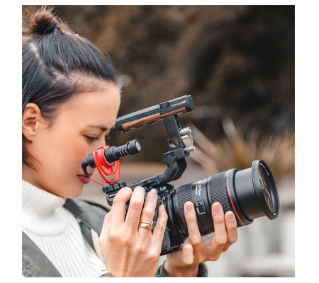 Rode VideoMicro Compact On-Camera Microphone with Rycote