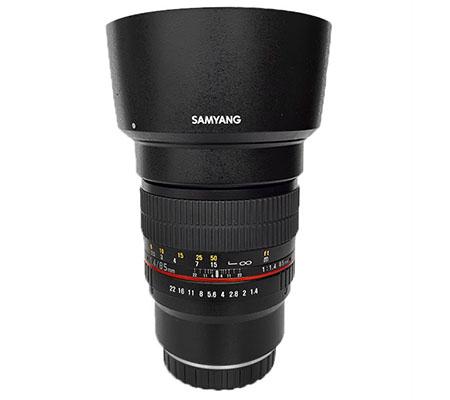 Samyang 85mm f/1.4 Aspherical IF Lens for Fujifilm X-Mount