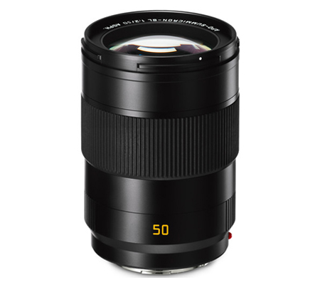 Leica APO-Summicron-SL 50mm f/2 ASPH Black Anodized Finish (11185)