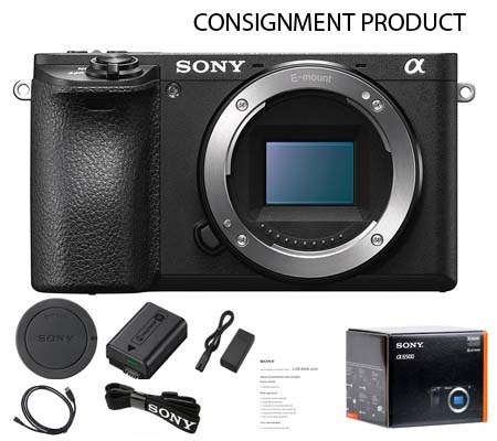 :::USED:::Sony A6500 Body (Exmint) #249 Consignment