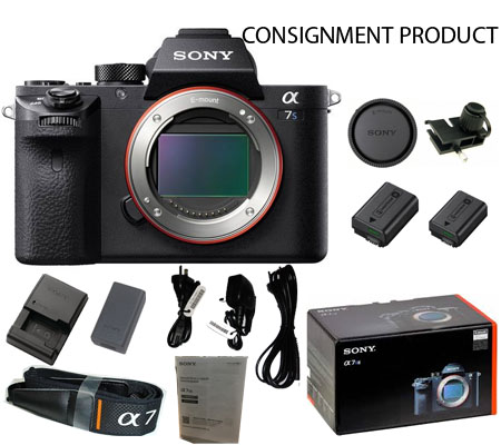 :::USED::: Sony A7SII Body (Excellent To Mint-722) CONSIGNMENT