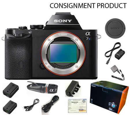 :::USED::: Sony Alpha A7S Body (Excellent) Kode 424 Consignment