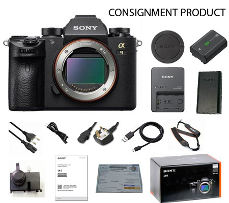 :::USED:::Sony Alpha A9 (Body) Exmint Kode 349 Consignment