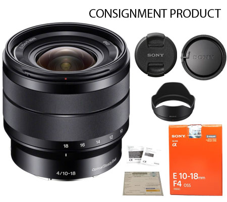:::USED:::Sony E 10-18mm f/4 OSS Mint Kode 476 Consignment