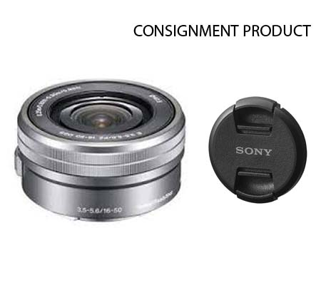 :::USED::: Sony E 16-50mm F3.5-5.6 PZ OSS Silver (Ex-Mint) #346 Consignment
