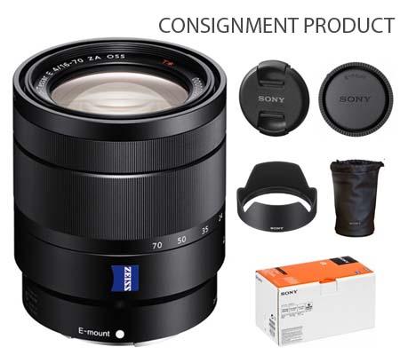 :::USED:::Sony E 16-70mm f/4 ZA OSS Vario-Tessar T* Mint Kode 611 Consignment