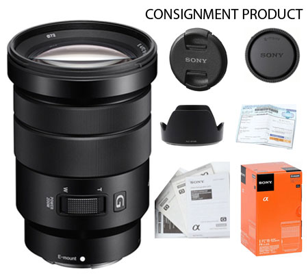 :::USED::: Sony E 18-105mm f/4 PZ G OSS (Mint-448) Consignment