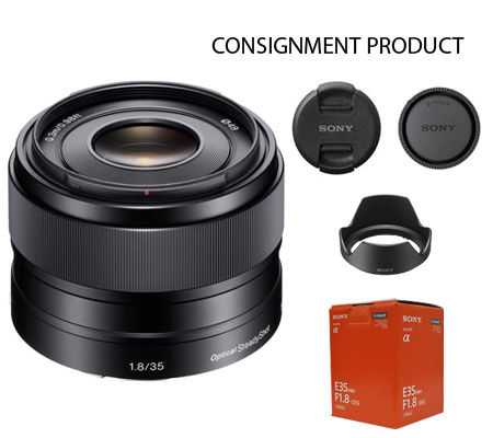 :::USED::: Sony E 35mm f/1.8 OSS (Excellent To Mint-365) CONSIGNMENT