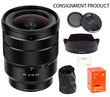 :::USED:::Sony FE 16-35mm f/4 ZA OSS Vario-Tessar T* Exmint Kode 511 Consignment