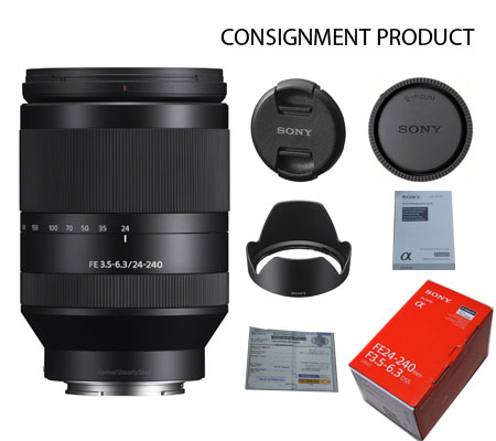 :::USED:::Sony FE 24-240mm f/3.5-6.3 OSS (Mint) Kode 590 Consignment