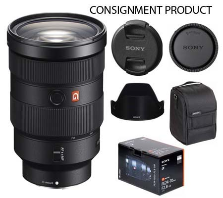 :::USED::: Sony FE 24-70mm f/2.8 GM (Mint) #749 Consignment