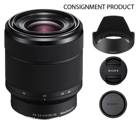 :::USED::: Sony FE 28-70mm f/3.5-5.6 OSS (Mint) Kode 142 Consignment