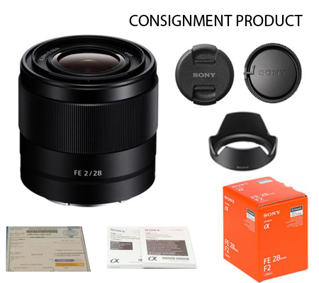 :::USED:::Sony FE 28mm f/2 (Exmint) Kode 945 Consignment