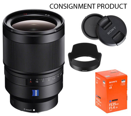 :::USED::: Sony FE 35mm f/1.4 ZA Distagon T* (Exmint) Kode 172 Consignment