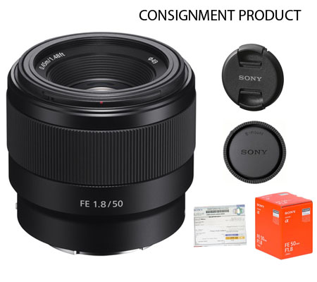 :::USED:::Sony FE 50mm f/1.8 (Exmint) Kode 214 Consignment