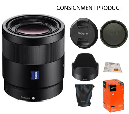 :::USED:::Sony FE 55mm f/1.8 ZA Sonnar T (Exmint) Kode 838 Consignment