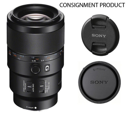 :::USED::: Sony FE 90mm f/2.8 Macro G OSS (Mint-542) CONSIGNMENT