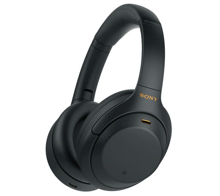 Sony WH-1000XM4 Wireless Noise-Canceling Over-Ear Headphones Black