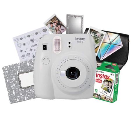 Fujifilm Ginza Package Instax Mini 9 (Smokey White)