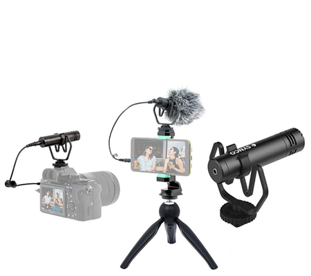 Synco M1P Vlogging Kit Microphone Tripod for Smartphone & Camera
