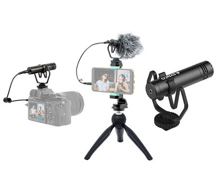 Synco M1P Vlogging Kit Microphone Tripod for Smartphone & Camera
