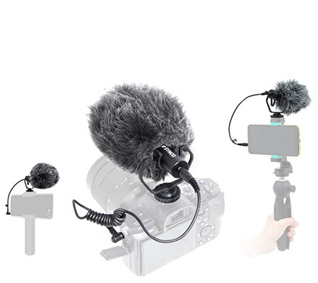 Synco Mic-M1 Ultracompact Camera-Mount Shotgun Microphone