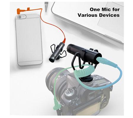 Synco Mic-M1 Ultracompact Camera-Mount Shotgun Microphone