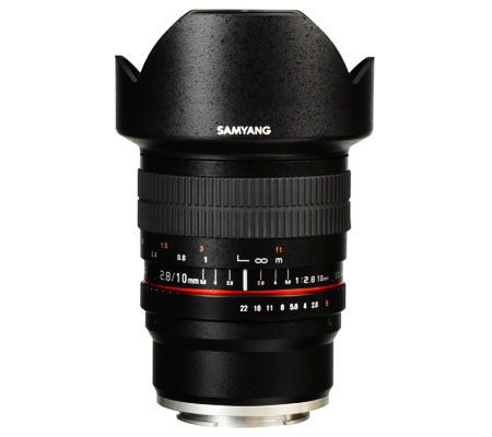 Samyang 10mm f/2.8 ED AS NCS CS Lens for FUJIFILM X