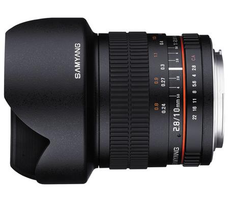 Samyang 10mm f/2.8 ED AS NCS CS Lens for FUJIFILM X