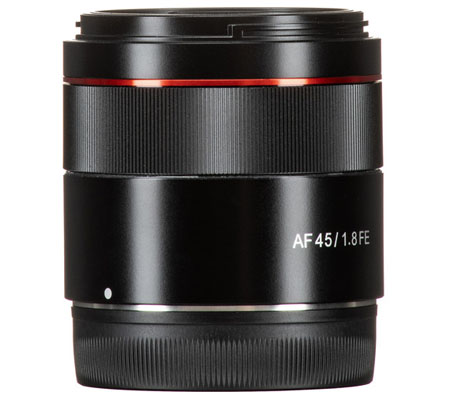 Samyang AF 45mm f/1.8 for Sony E Mount FE Lens