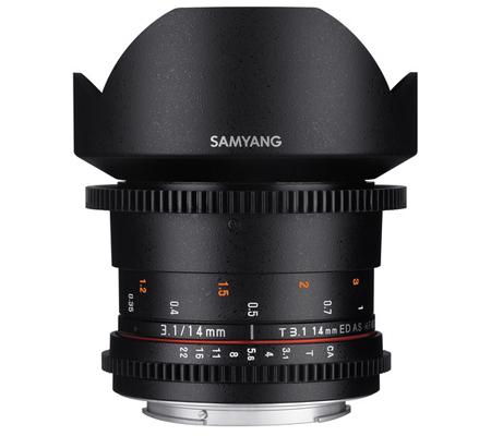 Samyang VDSLR 14mm T3.1 MK2 Sony E Cine Video Lens Mark II