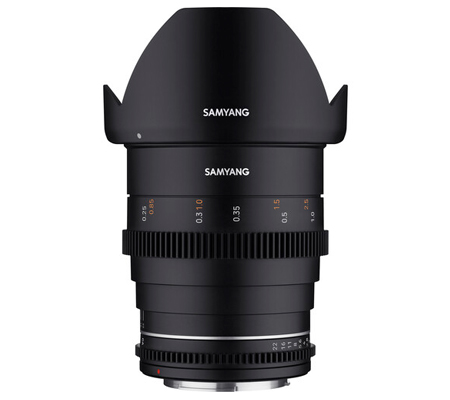 Samyang VDSLR 24mm T1.5 MK2 Sony E Cine Video Lens Mark II