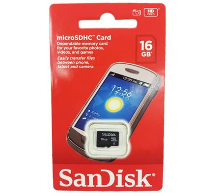 Sandisk Micro SDHC Class 4 16GB