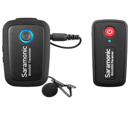 Saramonic Blink 500 B1 TX+RX Wireless Lavalier Microphone for Camera & Mobile Device