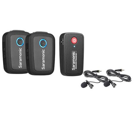 Saramonic Blink 500 B2 TX+TX+RX Wireless Lavalier Microphone Black
