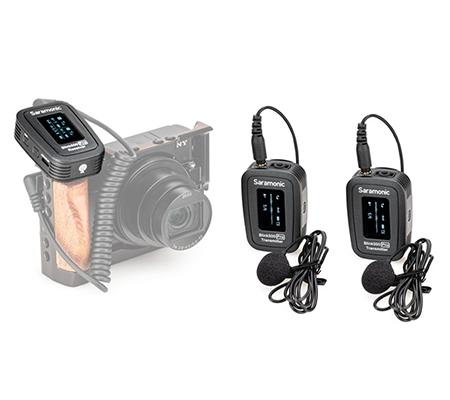 Saramonic Blink 500 Pro B2 TX+TX+RX Wireless Lavarier Microphone for Camera & Smartphone