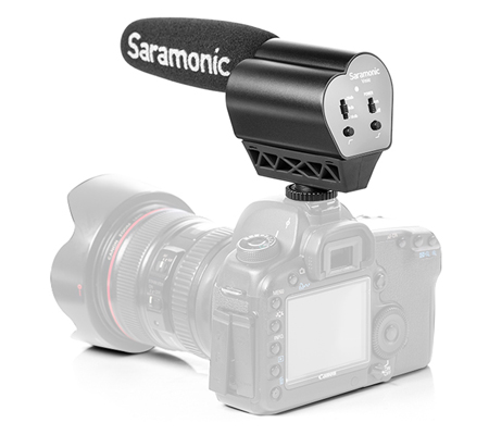 Saramonic Vmic Microphone for DSLR Cameras/Camcorders