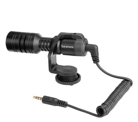 Saramonic Vmic Mini Microphone for DSLR and Smartphones