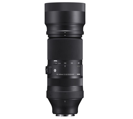 Sigma for Sony E 100-400mm f/5-6.3 DG DN OS Contemporary Lens